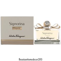 Signorina Eleganza by Salvatore Ferragamo 3.4 oz EDP Spray Perfume for Women NIB #SalvatoreFerragamo