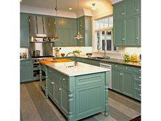 Vintage Kitchen - Home and Garden Design Idea's