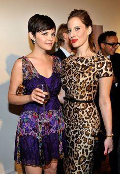 Ginnifer Goodwin I love this purple dress!