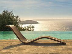Chaise longue en bois - CHISTERA sur mesure en bois