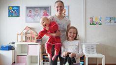 Vauvan kanssa luennoilla - Teksti ja kuva