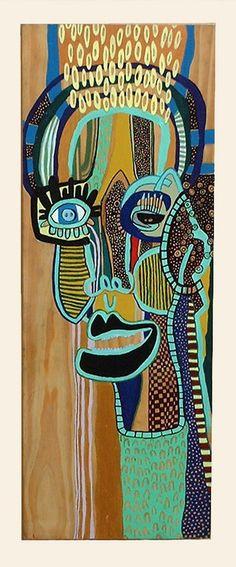 "Saatchi Online Artist: Lucy Browne; ""Woody"""