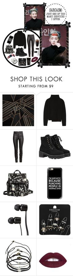 """""""You Taught Me Why Hurricanes Were Named After People ~"""" by bulletproof-girl-scout ❤ liked on Polyvore featuring SHAN, Humör, Proenza Schouler, H&M, WithChic, Eddie Borgo, Casetify, Vans, Topshop and Scosha"""