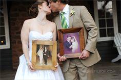 wedding photo idea - parents wedding photos