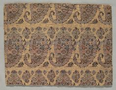 18 c. Iran. Fragment. lampas weave, Overall - h:17.80 w:22.30 cm (h:7 w:8 3/4 inches). Dudley P. Allen Fund 1918.186 | Cleveland Museum of Art