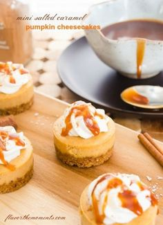 Ingredients: Serves: 12 mini cheesecakes Prep Time: 30 minutes Total Time: 1 hour  For the crust:  3/4 cups graham cracker crumbs  1/4 cup finely chopped, toasted