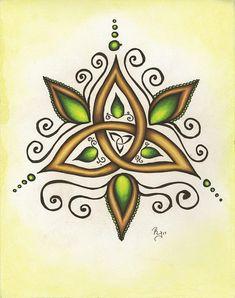 Celtic Knot Tattoo, Celtic Tattoos, Triquetra, Pentacle, Celtic Symbols, Celtic Designs, Future Tattoos, Skin Art, Book Of Shadows
