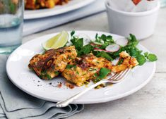 Stuffed with lime, coriander, prawns and and chilli, these Thai fishcakes really pack a punch, while the peppery radish salad makes an inspired partner