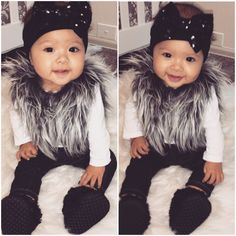 Baby Girl Fashion.😍 My baby!❤️