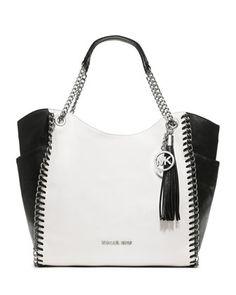 Nicole Lee Handbags Jenna Studded Purse Black Satchel | Stylish ...