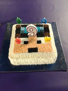 Dan TDM minecraft bday cake