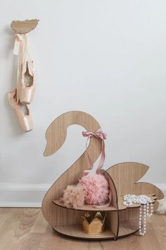 This wooden Swan House from Hagelens will look fantastic in any nursery or play room. The Scandinavian toy play house is carved in oak veneer Funky Furniture, Baby Furniture, Scandinavian Toys, Baby Shower Fun, Boutique Design, Kids Store, Baby Room Decor, Kids Decor, Event Decor