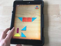 Kleuters digitaal! Speel met Tangram! - Kleuters digitaal! Lego, Apps, School, Projects, Log Projects, Blue Prints, Legos, App, Schools