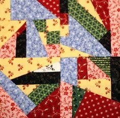 1880's sampler quilt: November 2011, Crumbs