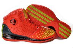 Adidas AdiZero Derrick Rose 3.5 Max Orange/Black Yellow Basketball 2013 Shoes