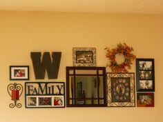 My family room wall