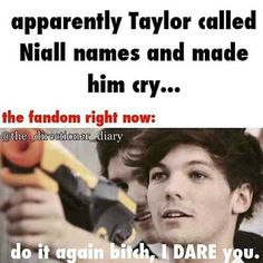 Pack your weapons Niallers, we're about to kill somebody.