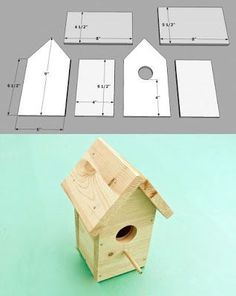 5 DIY Birdhouses Free Plans And Ideas