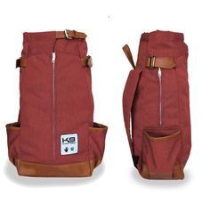K9 SPORT SACK FORWARD FACING BACKPACK DOG CARRIER - MAROON