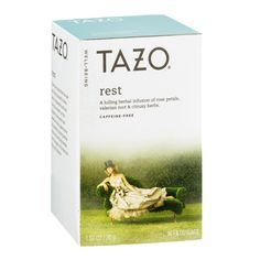 Tazo Caffeine-Free Well-Being Tea Filter Bags Rest - 16 CT