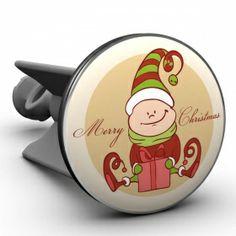 Waschbeckenstöpsel Elf merry christmas