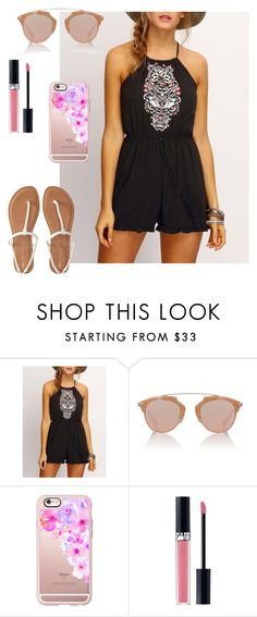 """""""Untitled #132"""" by patillarivas-1 ❤ liked on Polyvore featuring Christian Dior, Casetify and Aéropostale"""