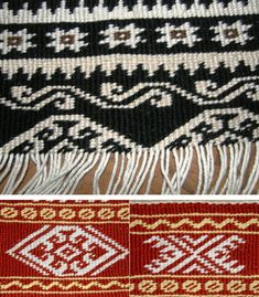 Here I show you a little about basic weft twining and have made a couple of videos. My interest in this technique goes back a long way starting with Cheryl Samuel's beautiful book on Chilkat …
