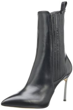 Casadei Women's Ankle Boot,Nero,38 EU/8 M US *** More info could be found at the image url.
