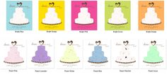 I love weddings! Tove Love, Seed Paper, Party Favors, Birthday Cake, Pastel, Orange, Cake, Birthday Cakes, Princess Party Favors