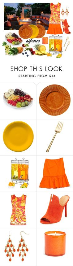 """Alfresco 🥗"" by jbeb ❤ liked on Polyvore featuring Fiesta, Wallace, Prada, Emilio Pucci, Halston Heritage and LAFCO"
