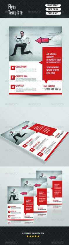 Business infographic : Corporate Flyer Template