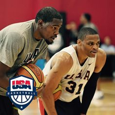 """News: Kevin Durant, Russell Westbrook named finalists for 2016 U.S Olympic Men's Team. Both won gold in 2012."""