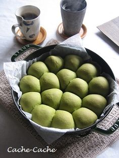 Green Tea Buns | Get Your Own Boutique Organic Matcha Today: http://www.amazon.com/MATCHA-Green-Tea-Powder-Antioxidants/dp/B00NYYVWFQ