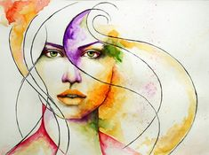 Passion for love - 50 Mind Blowing Watercolor Paintings  <3 !