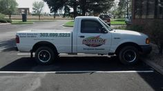 This truck has some large graphics on the door which required conformable vehicle wrap vinyl. Nice moving billboard for this delivery truck~! People immediately know who owns it and where to call! Denver, Car Wrap, Monster Trucks, Vehicle Wraps, Billboard, Vehicles, Graphics, Cars, Nice