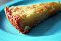 Dutch butter cake, like a big gooey sugar cookie. I'm gonna have to make this soon.