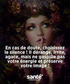 Citation sur le silence.