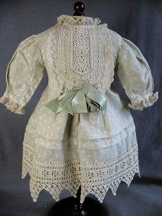 Sweet antique doll dress