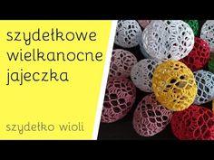 Szydełko Wioli - Szydełkowe Jajka Wielkanocne - YouTube Easter Crafts, Easter Eggs, Crochet Patterns, Christmas Decorations, Make It Yourself, Knitting, Food, Easter, Amigurumi