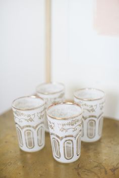Pretty cups: http://www.stylemepretty.com/living/2013/11/04/coco-kelley-home-tour/ | Photography: Katie Parra - http://katieparra.com/