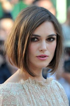 The Best Long Bob Hairstyles: Keira Knightley's Long Bob