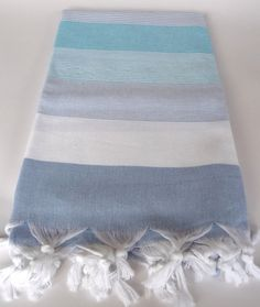 Natural Soft Cotton Bath and Beach Towel Turkish by TheAnatolian, $28.90