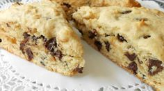 Delicious 'pick-me-up-snack' any time of the day for chocolate chip lovers.