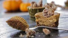 Mini-gâteaux au fromage et à la citrouille - Recettes de cuisine, trucs et conseils - Canal Vie