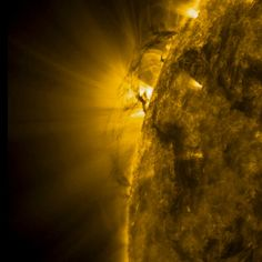 SDO Sees Sun TornadoesCredit: NASA/SDOTornado-like plasma twisters dance across the sun in this still from a NASA video recorded by the Solar Dynamics Observatory during a 30-hour period between Feb. 7 and 8 in 2012. [Full Story and Video]