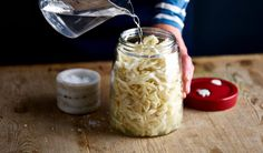 Home-made Sauerkraut has a crunch and a pleasing, mild acidity - much superior to the shop bought versions! Makes enough to fill a 1.4 Litre Fermenting Jar