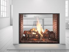 Heat and Glo Escape See-Through Gas Fireplace