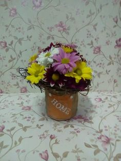 Home sweet home :) Planter Pots, Sweet Home, Flowers, House Beautiful, Royal Icing Flowers, Flower, Florals, Floral, Blossoms