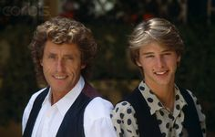 Roger Daltrey and Chesney Hawkes at 1990 Cannes Film Festival