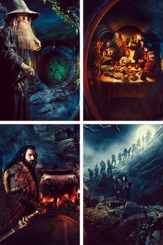 The Hobbit...loved Martin Freeman, Richard Armitage, and Aiden Turner as Bilbo, Thorin, and Kili